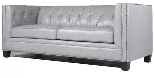 Bronwood Leather Chesterfield Sofa