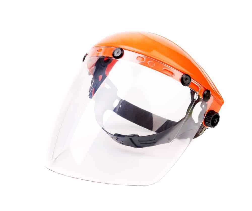 Orange Face Shield