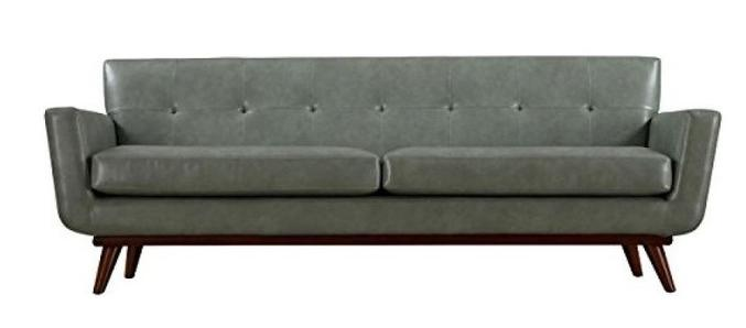 Lyon Smoke Gray Sofa