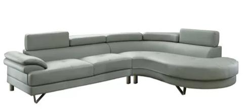Longworth Sectional Leather Sofa