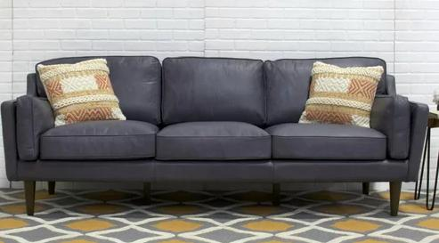 Swell 50 Amazing Gray Leather Sofa Ideas Squirreltailoven Fun Painted Chair Ideas Images Squirreltailovenorg