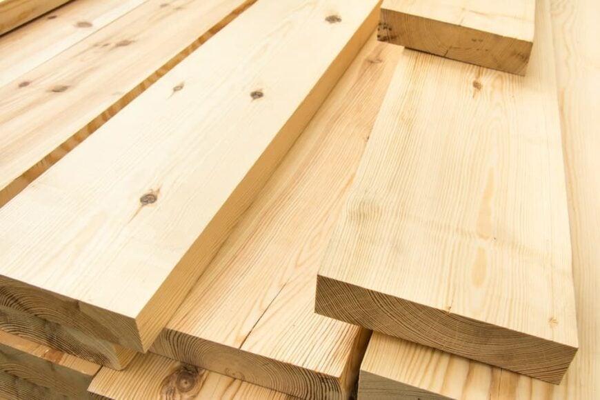 Piled Lumber