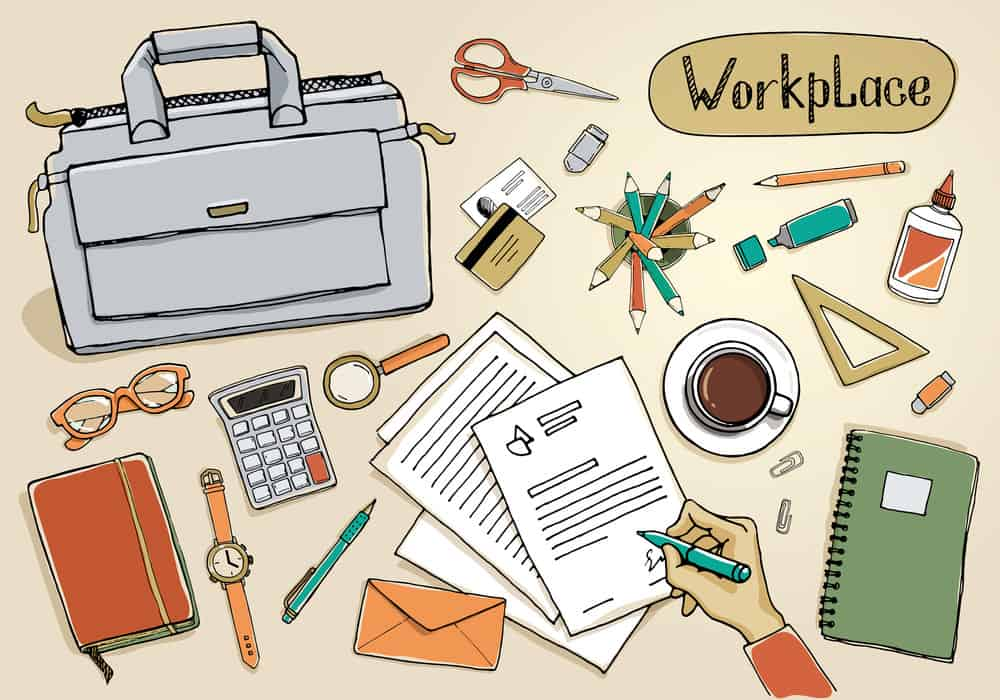All kinds of stationary