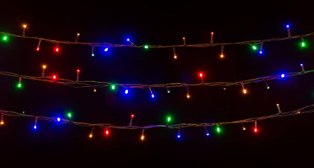 Glowing Multi-colored String Lights
