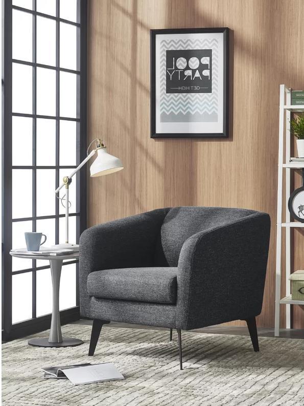 Dang Modern Fabric Armchair