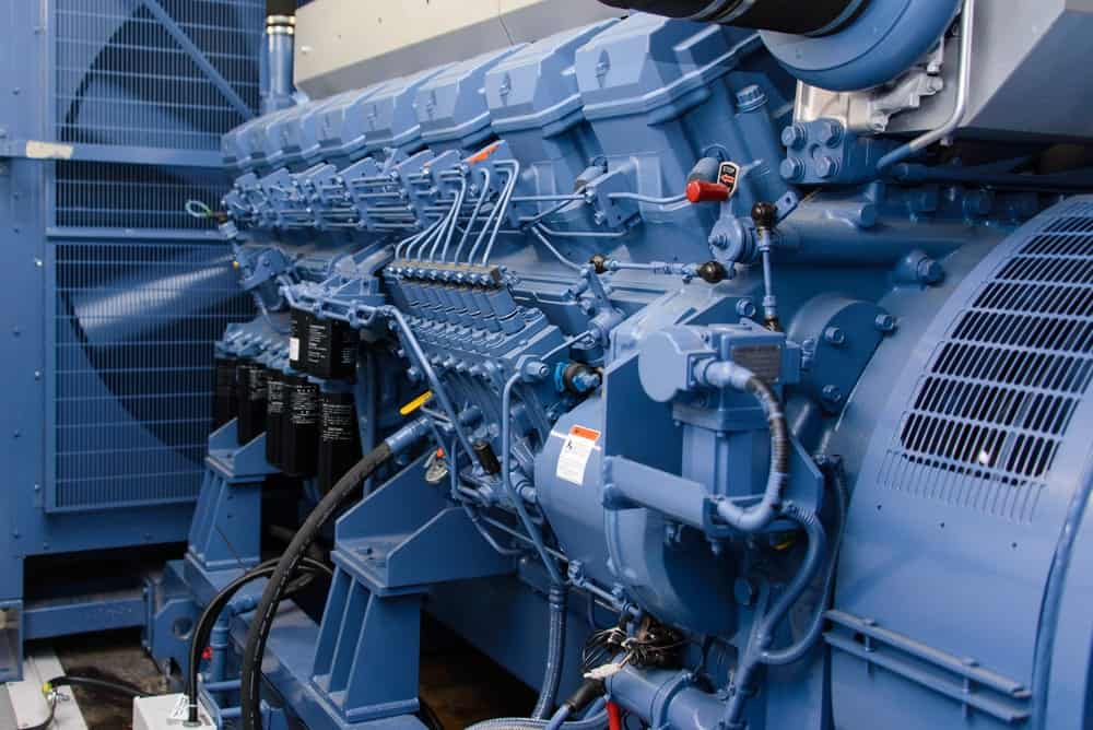 The Inside of a Diesel Generator