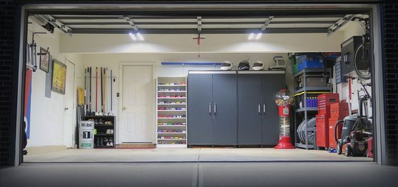 LED Lights in Garage