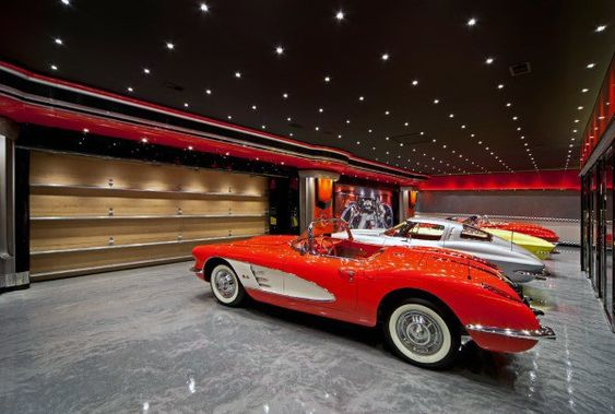 Recessed Lights in a Garage