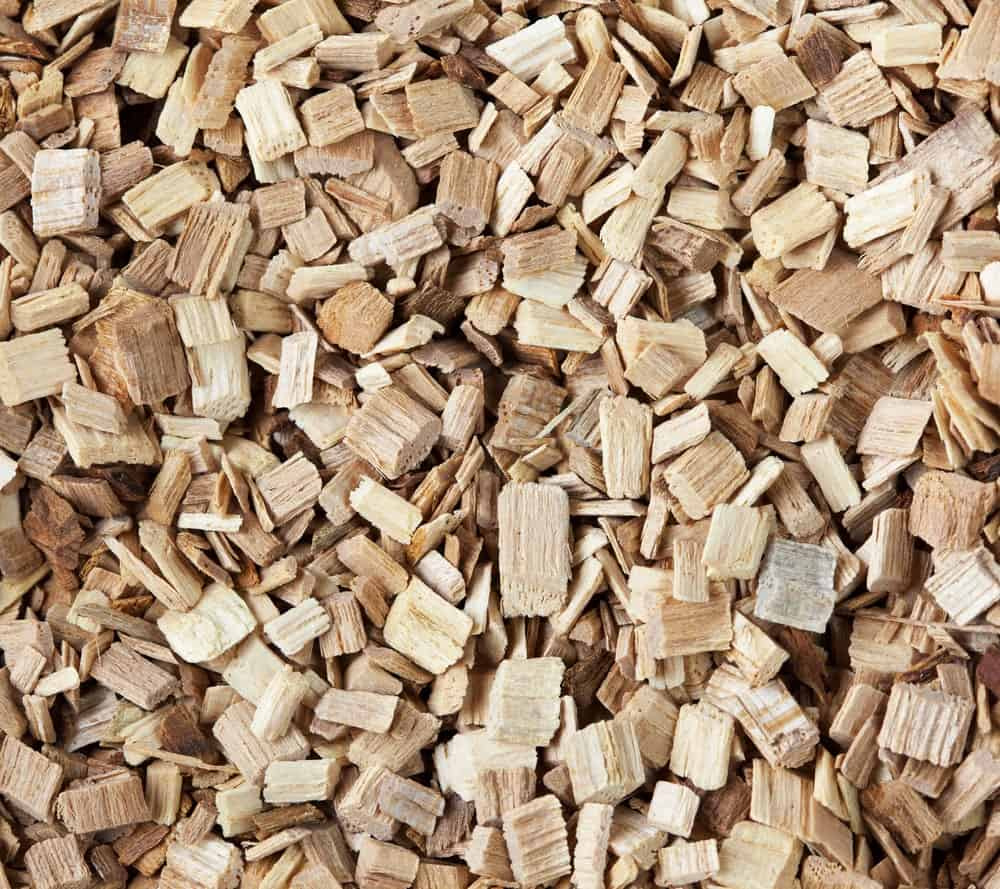 Hickory wood pellets