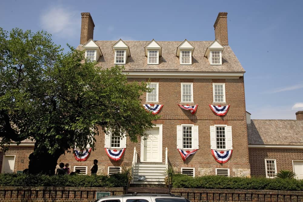Historic Hammond-Harwood House is one of the premiere remaining houses from the British Colonial era, began construction in 1774 in Annapolis, MD