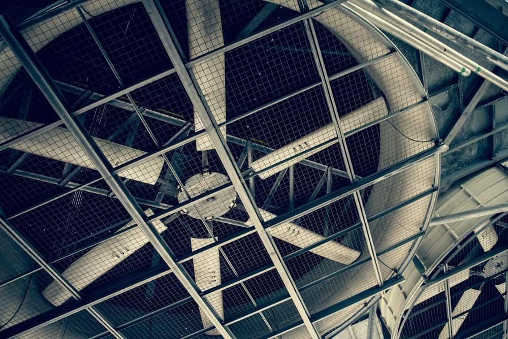 High industrial cooling fan