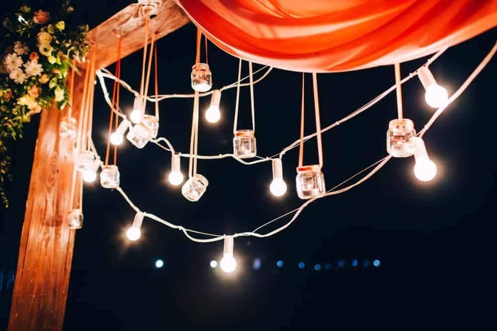 Hanging Light Jars