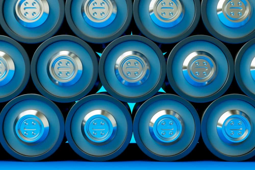Black Lithium Battery