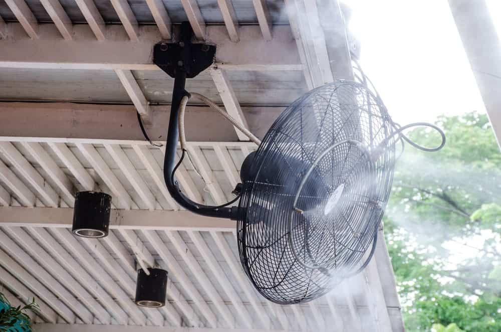 Mist Fan Blowing Mist