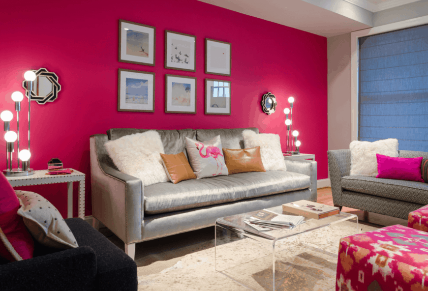25 pink living room ideas photos  home stratosphere