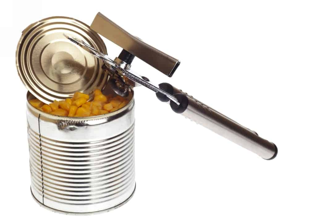 Side Can Opener on a Can