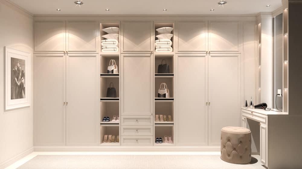 Task Lighting in a Closet