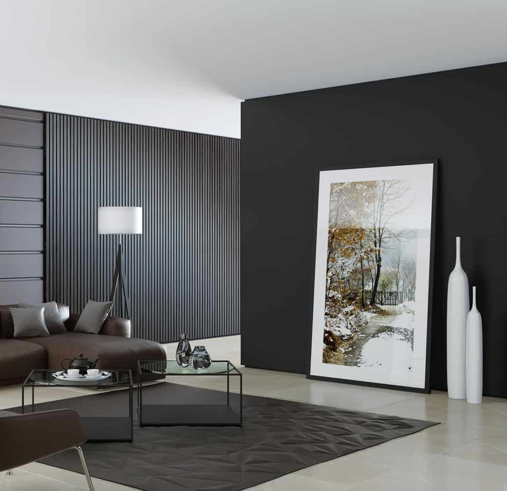 30 Black Living Room Ideas Forced Me