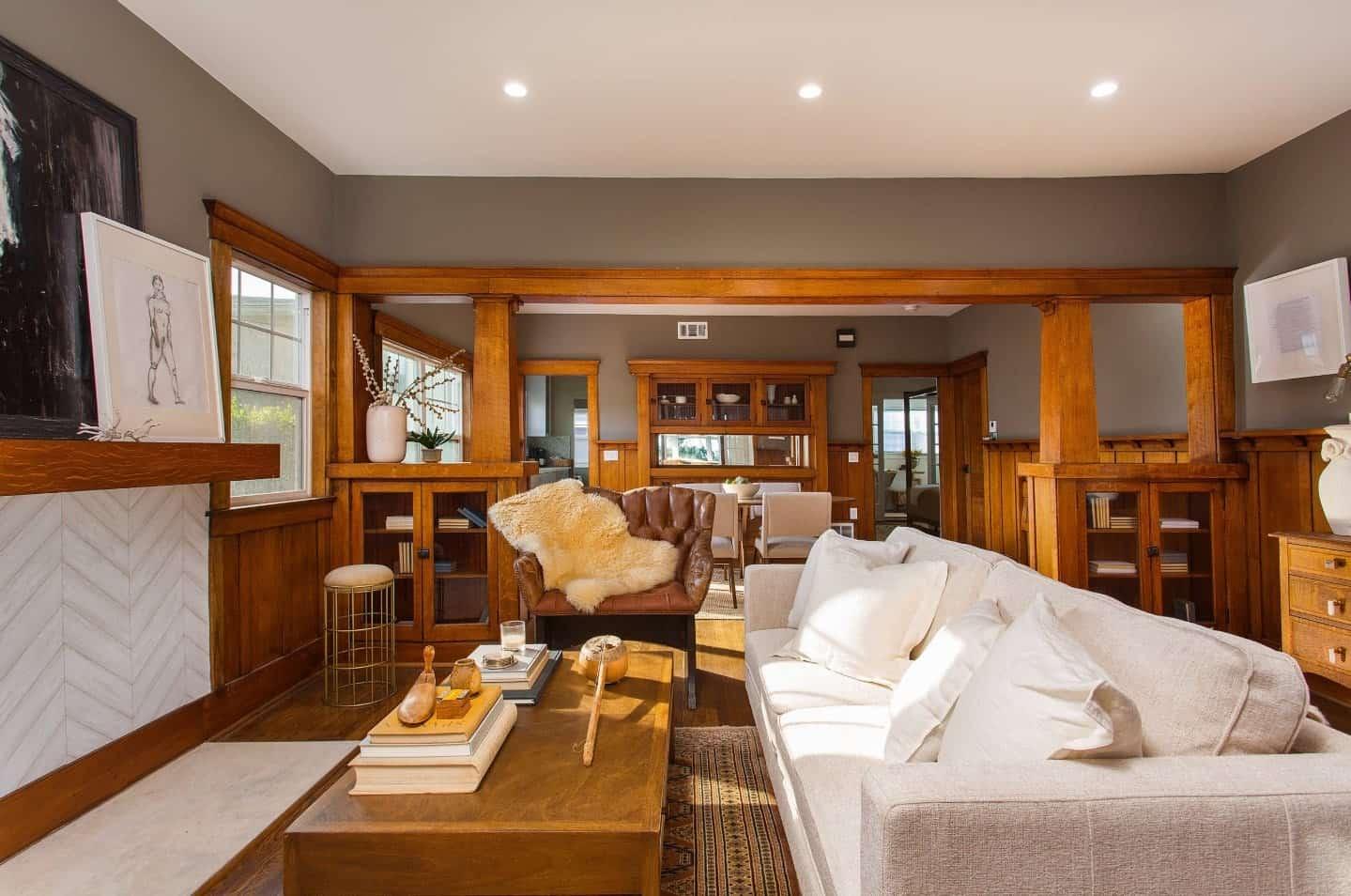 Atlanta, Georgia, United States   Craftsman living rooms ...