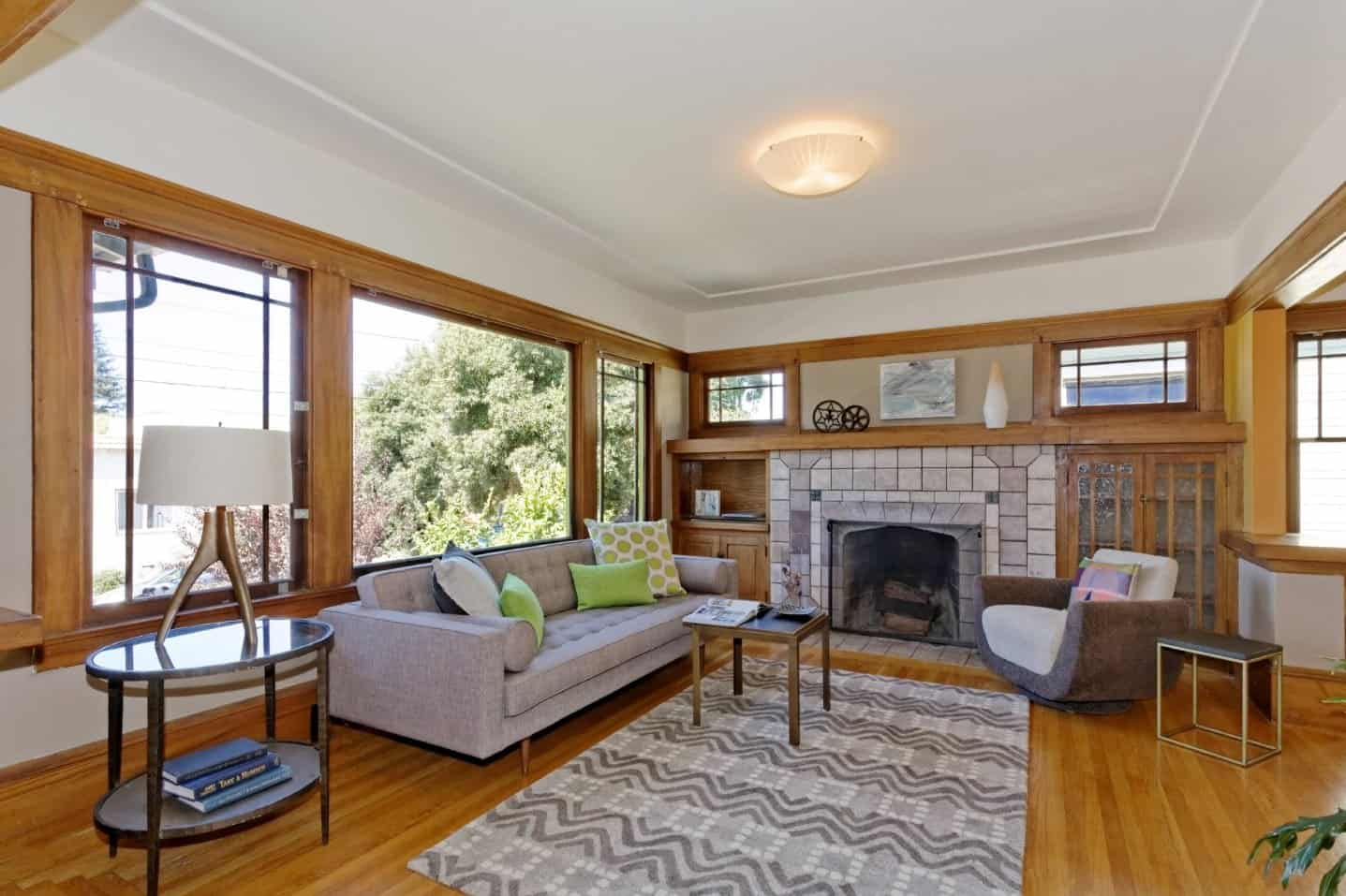 40 Craftsman-Style Living Room Ideas (Photos)