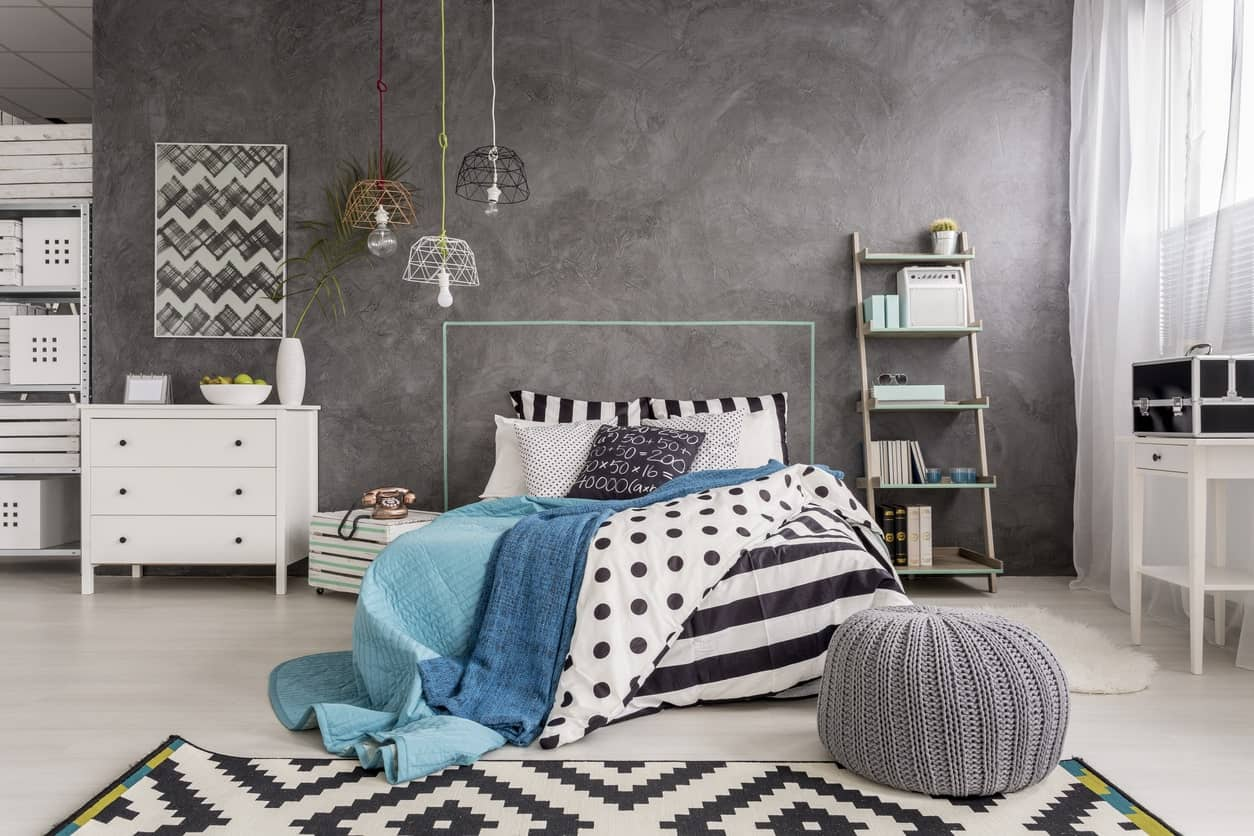how to design small grey bedroom space   70 Gray Master Bedroom Ideas (Photos)