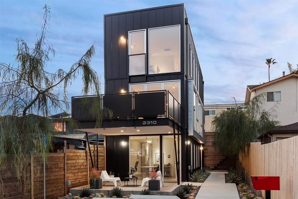 Modern Industrial home in North Park, San Diego.
