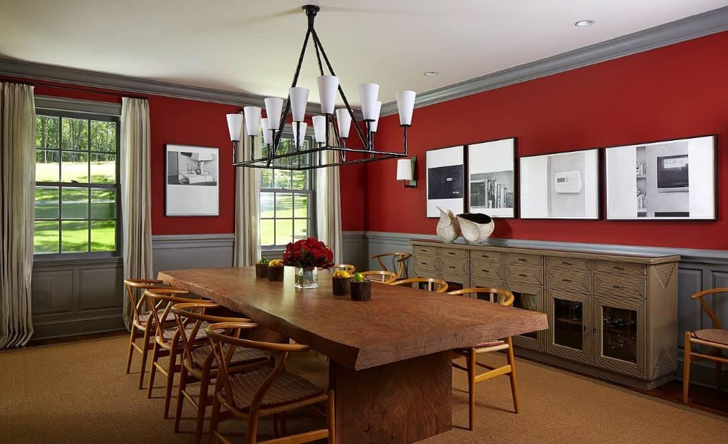 50 Red Dining Room Ideas Photos