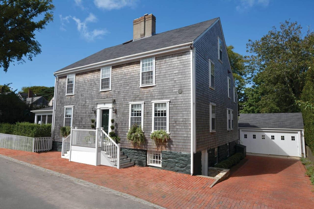 Nantucket Colonial with Wood Shingle Exterior (circa 1735)