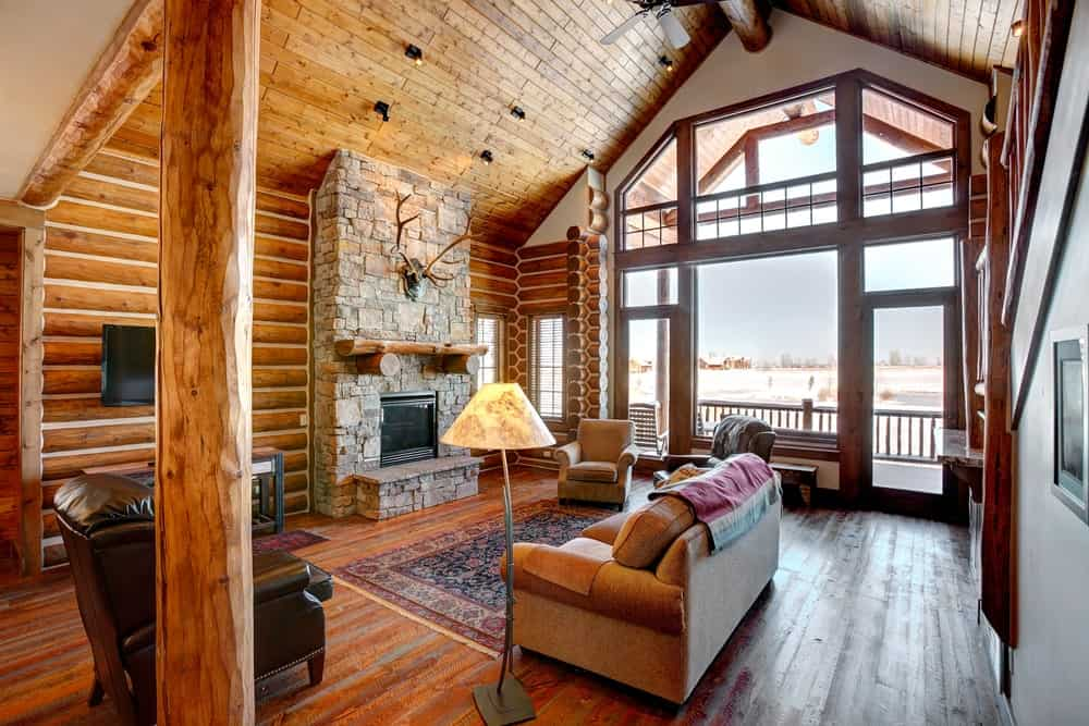 60 Rustic Living Room Ideas (Photos)