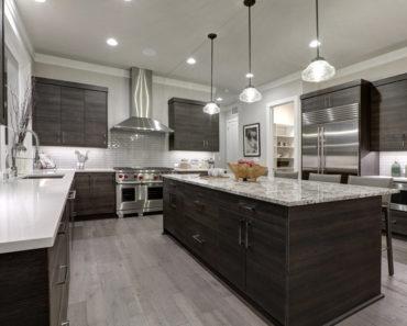 spectacular large u-shaped kitchen