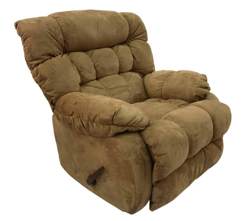 A Brown Recliner Chair