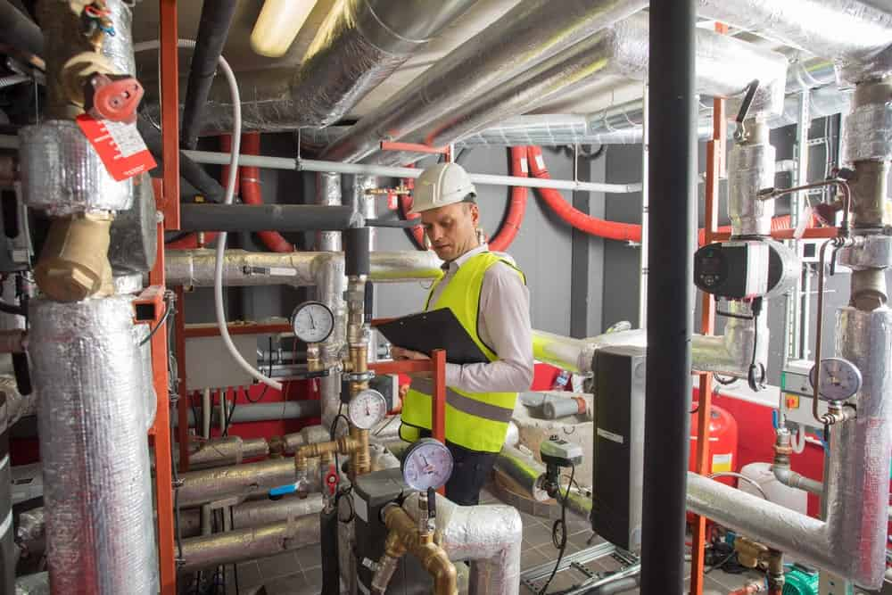 An Engineer in a Boiler Room