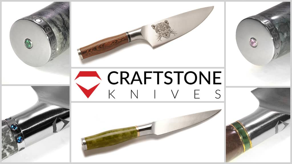 Collage of Craftstone Knives