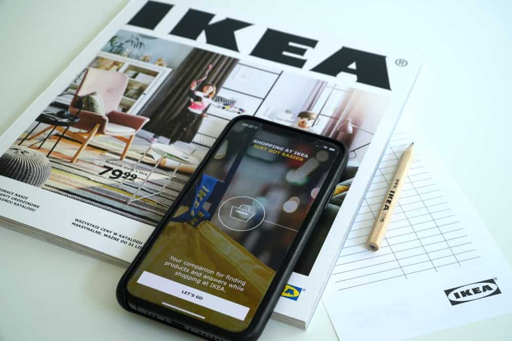 IKEA Catalog Digital Version on a Phone
