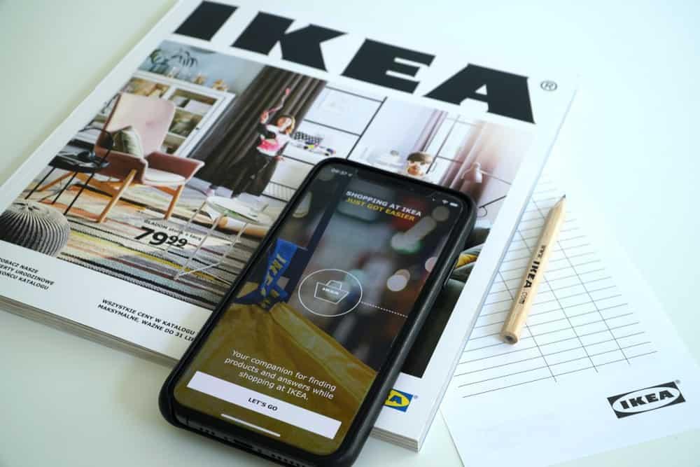 IKEA Catalog Digital Version on a Phone