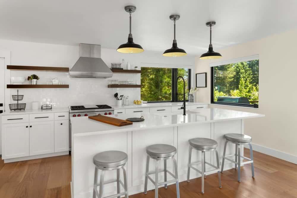 Light Beige Kitchen Interior - Pantone 400