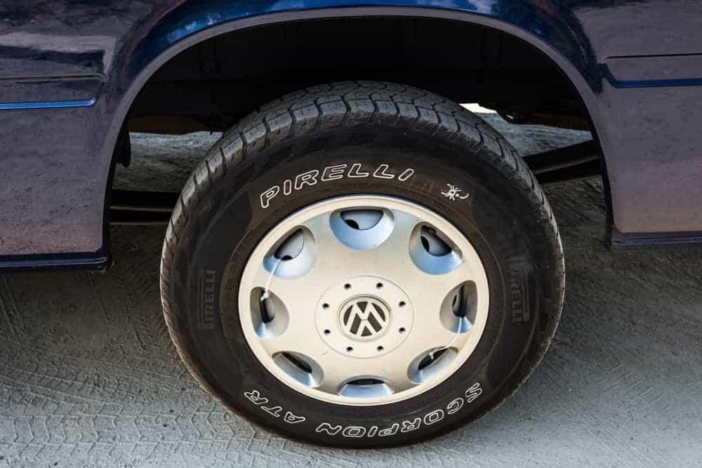 Black LT Tire