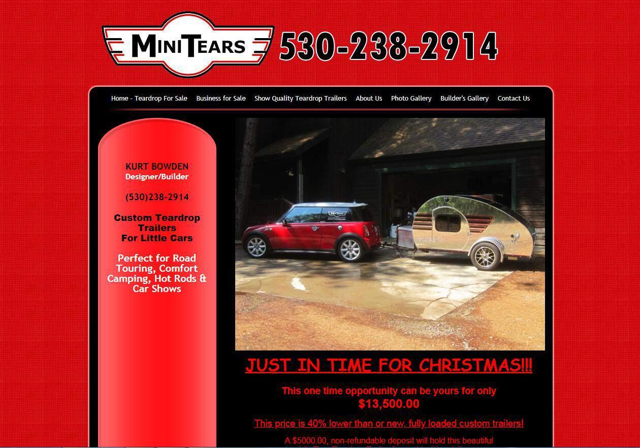 MiniTears webiste