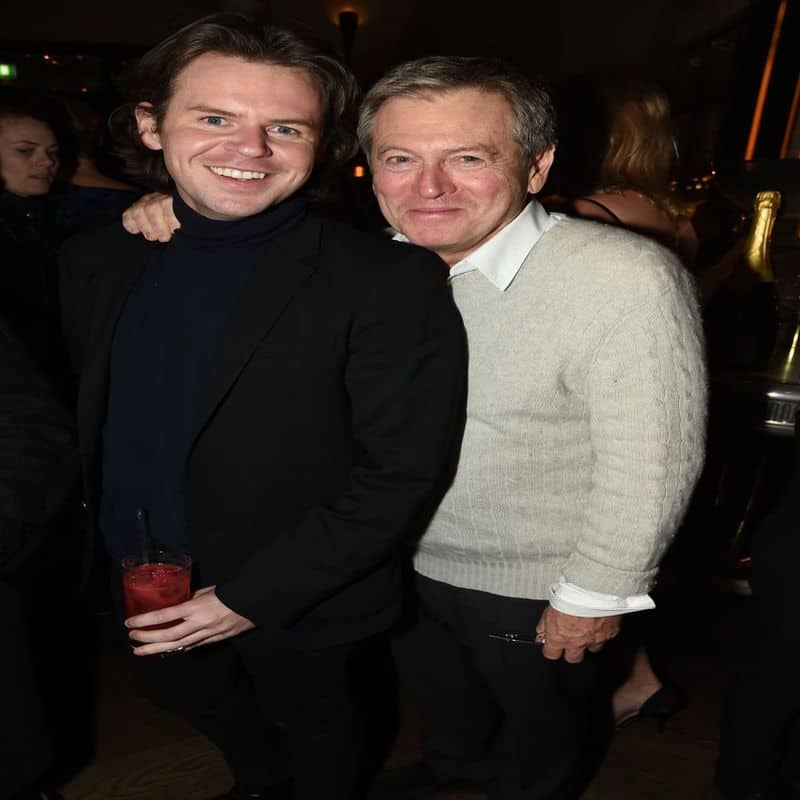 John Pawson (right) with his friend