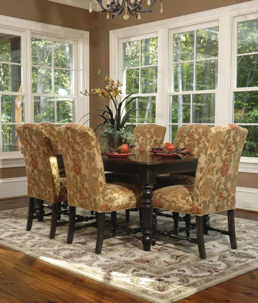 Pictures For Dining Room: 95 Dining Rooms With An Area Rug (Photos