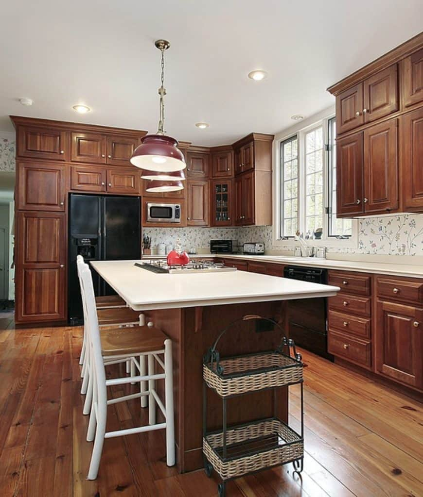 60 Fantastic Kitchens With Black Appliances Photos Home Stratosphere
