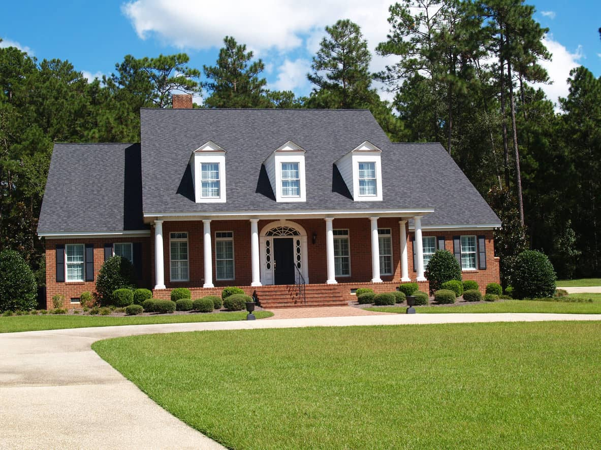 Attractive house with real dormer windows
