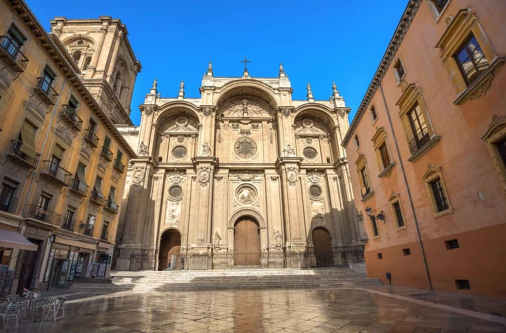 Granada Cathedral in Andalusia, Spain