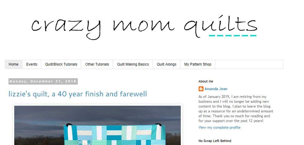 Crazy Mom Quiltsfor quilters
