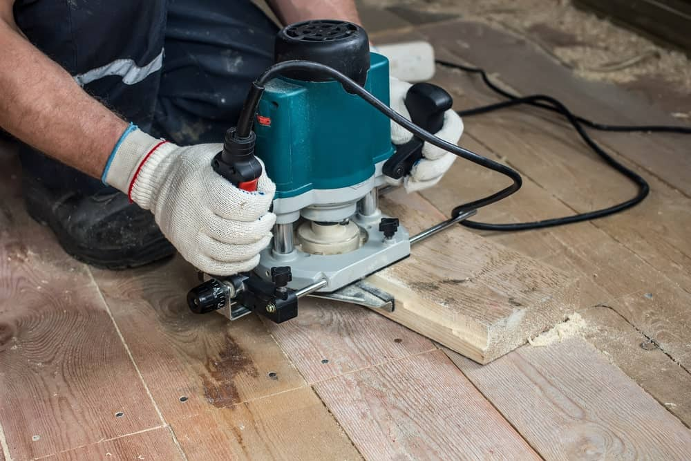 Electric Router for Cutting Boards