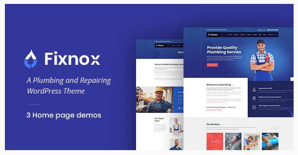 A plumbing theme – Fixnox