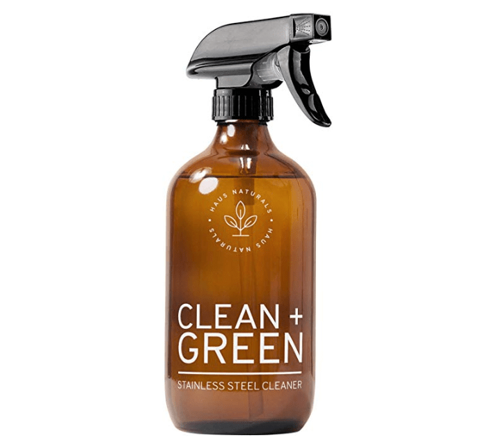 Haus Naturals Eco-Friendly Stainless Steel Cleaner