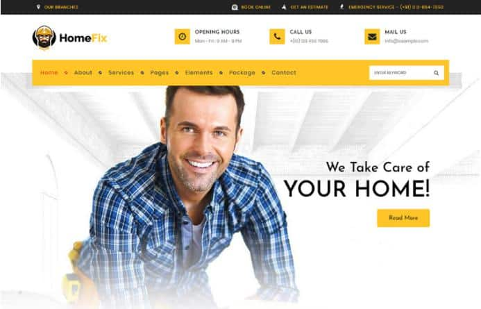 HomeFix – We Take Care of Your Home