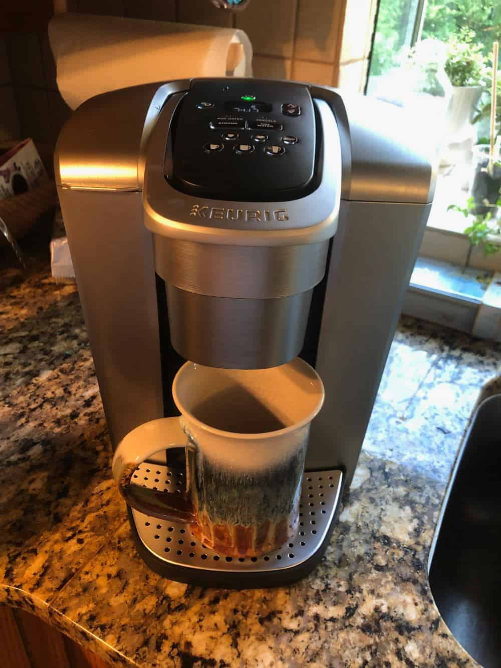 Keurig K-Elite Single Serve Coffee Maker Front View