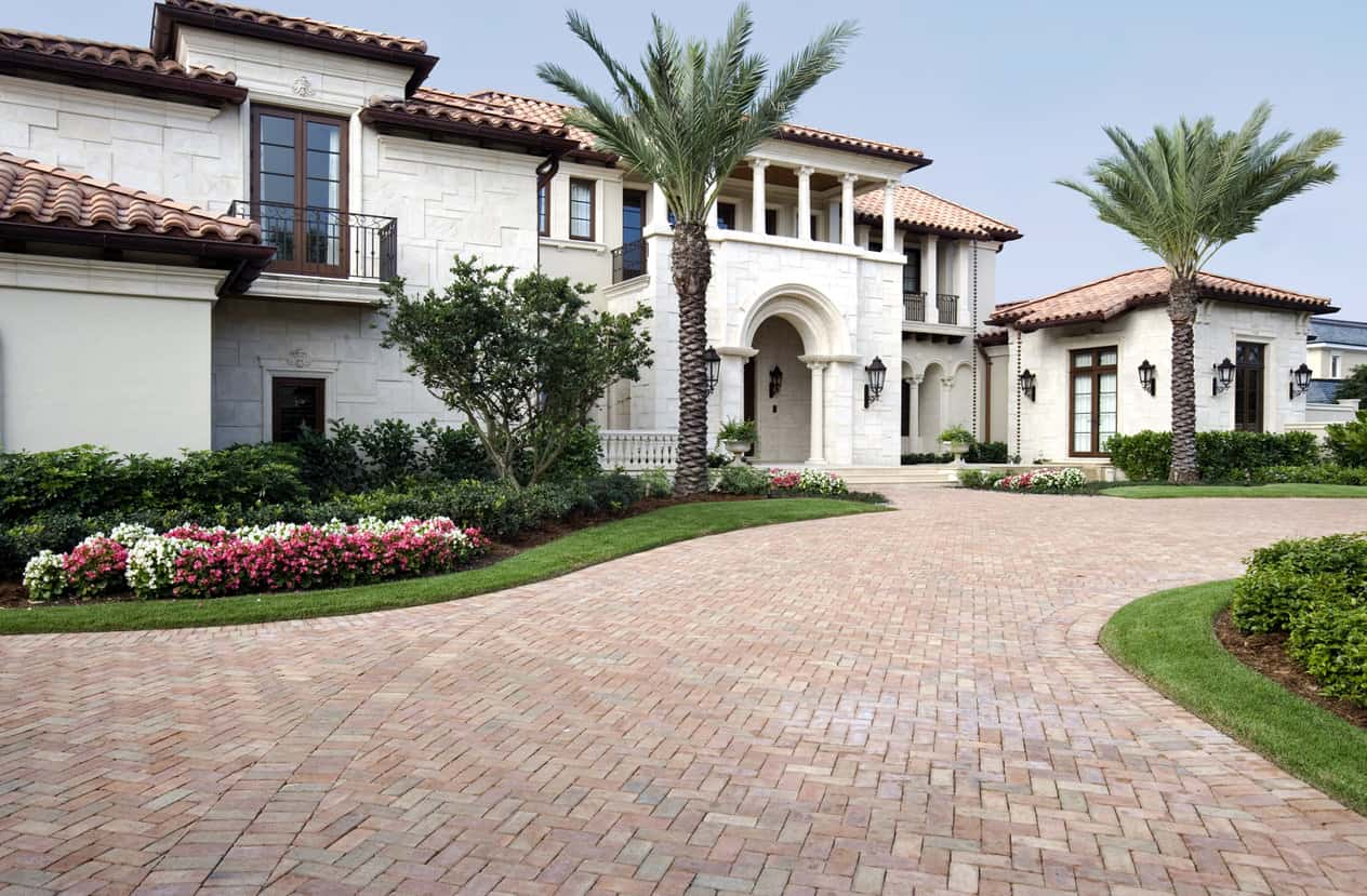 Large Florida mansion
